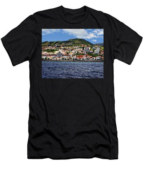 Bay Of Horta Men's T-Shirt (Athletic Fit)