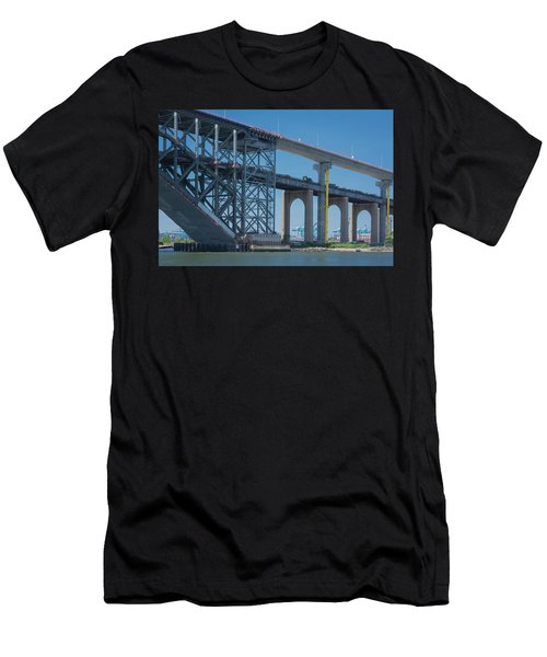 Bayonne Bridge Raising 3 Men's T-Shirt (Athletic Fit)