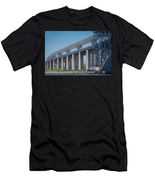 Bayonne Bridge Raising #5 Men's T-Shirt (Athletic Fit)