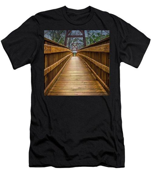 Bayou Foot Bridge Men's T-Shirt (Athletic Fit)