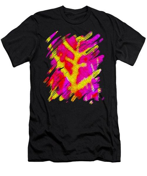 Bazaar Leaf Art Men's T-Shirt (Athletic Fit)
