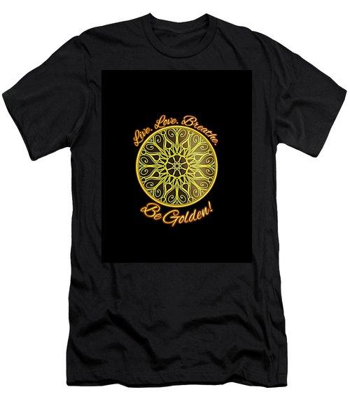 Be Golden Apparel Design Men's T-Shirt (Athletic Fit)
