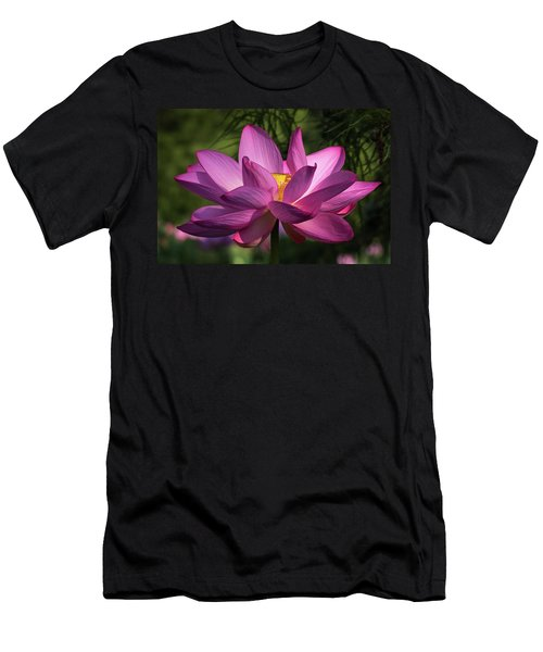 Be Like The Lotus Men's T-Shirt (Athletic Fit)