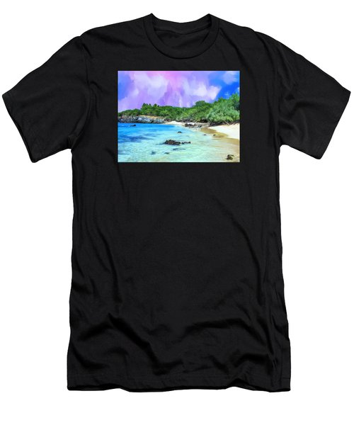 Beach 69 Big Island Men's T-Shirt (Athletic Fit)