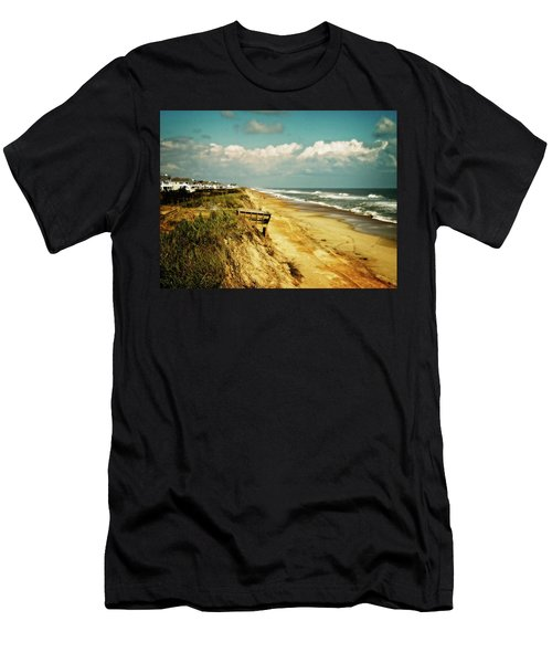 Beach At Corolla Men's T-Shirt (Athletic Fit)