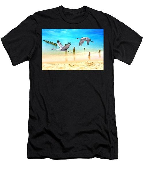 Beach Beauties Men's T-Shirt (Athletic Fit)