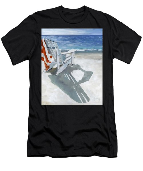 Beach Chair Men's T-Shirt (Athletic Fit)