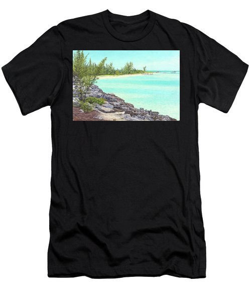 Beach Cove Men's T-Shirt (Athletic Fit)