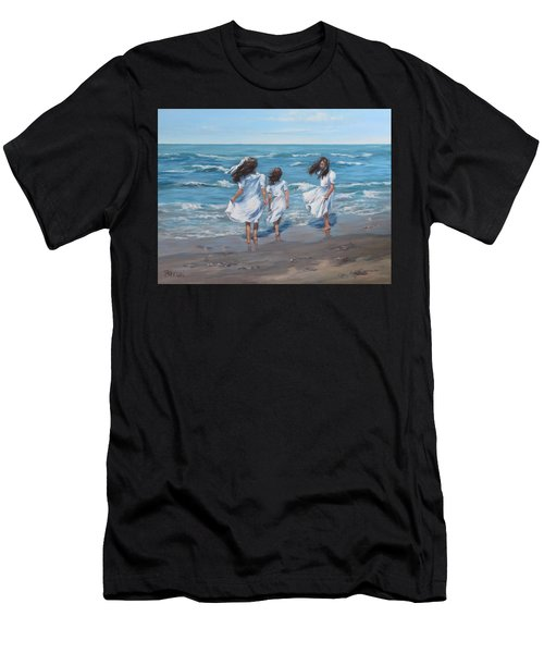 Beach Day Men's T-Shirt (Athletic Fit)