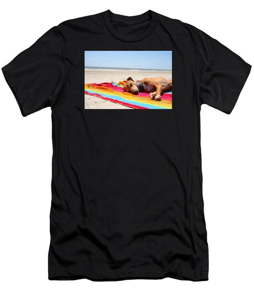 Beach Dreams Are Made Of These Men's T-Shirt (Athletic Fit)