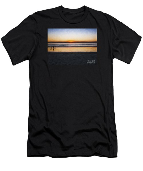 Beach Family  ... Men's T-Shirt (Athletic Fit)