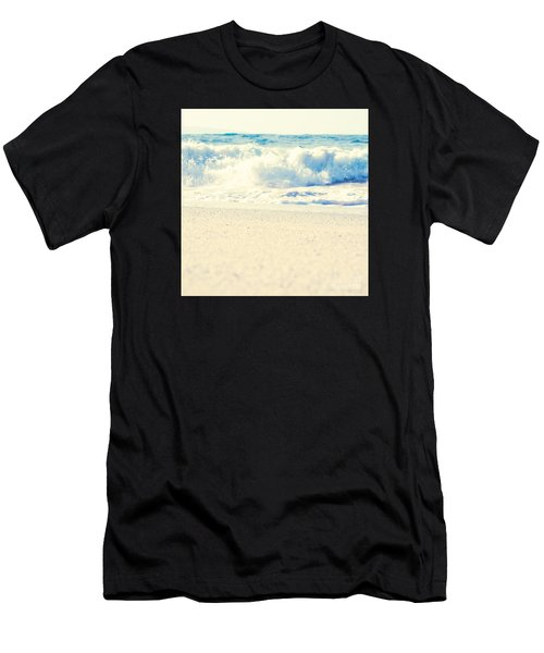 Men's T-Shirt (Athletic Fit) featuring the photograph Beach Gold by Sharon Mau