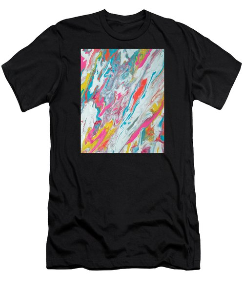 Beach House On The Moon Men's T-Shirt (Athletic Fit)