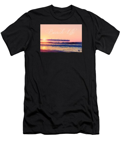 Beach Life Men's T-Shirt (Athletic Fit)