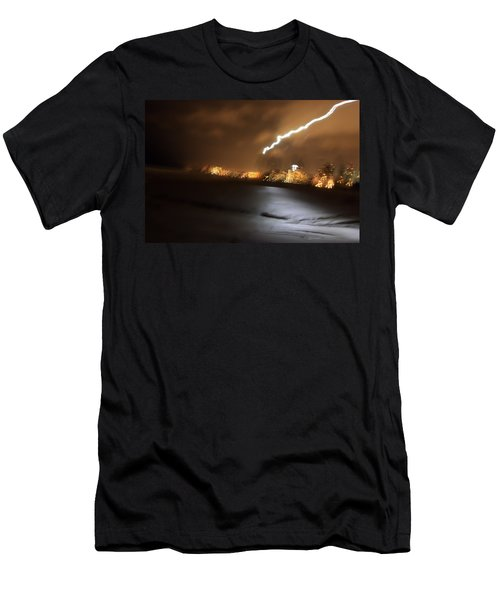 Beach Night 4 Men's T-Shirt (Athletic Fit)
