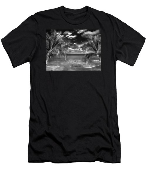 Beach Of Forgotten Colours Men's T-Shirt (Slim Fit) by Gabriella Weninger - David