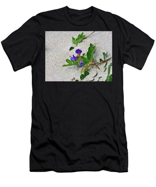 Beach Pea Vine Men's T-Shirt (Athletic Fit)