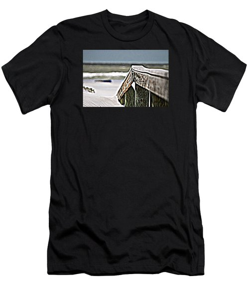 Beach Rail Men's T-Shirt (Athletic Fit)