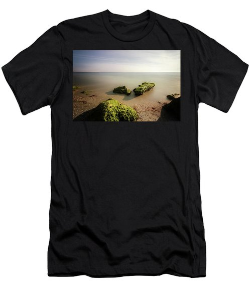 Men's T-Shirt (Slim Fit) featuring the photograph Beach by RC Pics