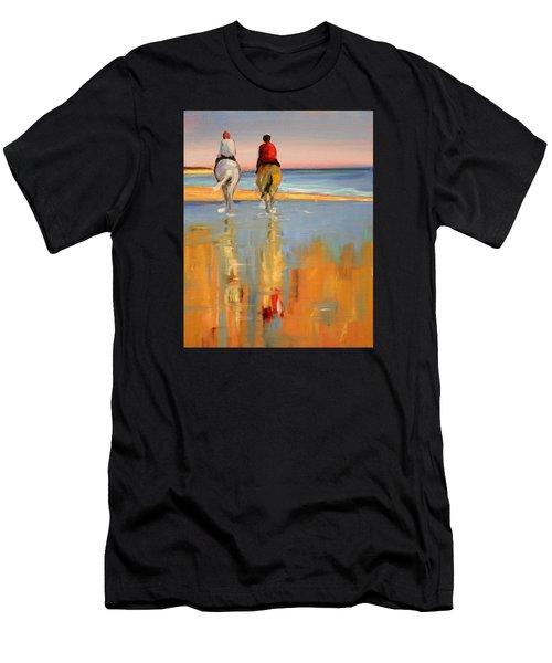 Beach Riders Men's T-Shirt (Athletic Fit)