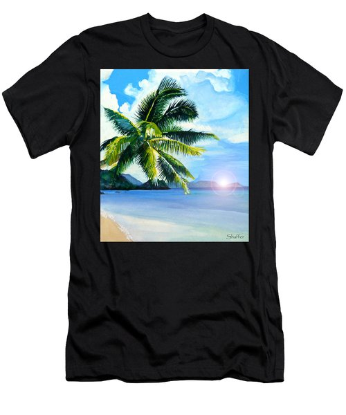 Beach Scene Men's T-Shirt (Athletic Fit)