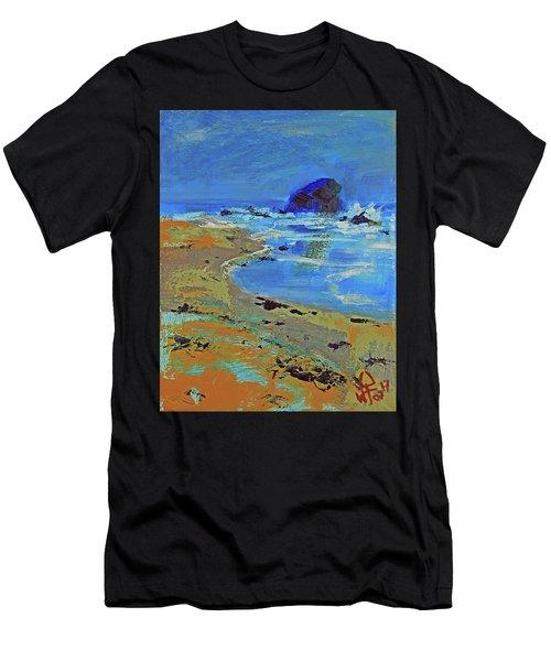 Beach Solitude Men's T-Shirt (Athletic Fit)