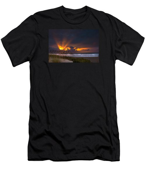 Beach Sunrise Men's T-Shirt (Athletic Fit)