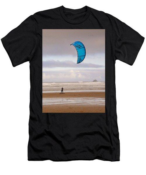 Beach Surfer Men's T-Shirt (Athletic Fit)