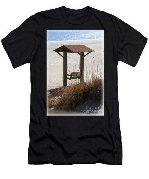 Beach Swing Men's T-Shirt (Athletic Fit)