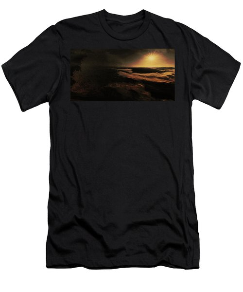 Beach Tree Men's T-Shirt (Athletic Fit)
