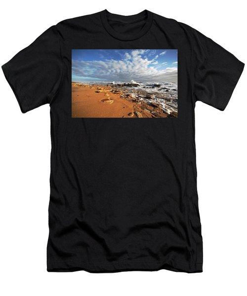 Beach View Men's T-Shirt (Athletic Fit)