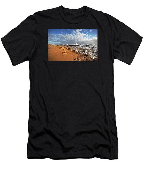 Beach View Men's T-Shirt (Athletic Fit)