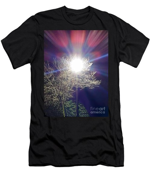 Beacon In The Night Men's T-Shirt (Athletic Fit)