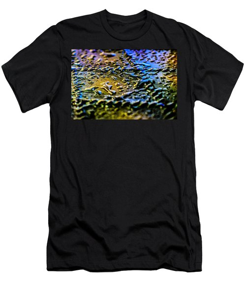 Beaded Water Texture Men's T-Shirt (Athletic Fit)