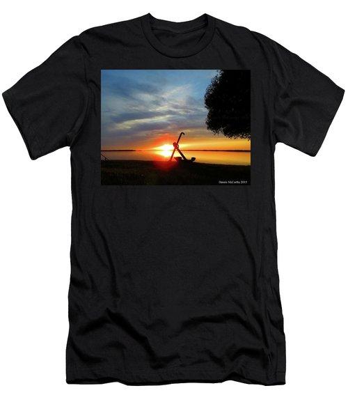 Beadles Point Sunset Men's T-Shirt (Athletic Fit)