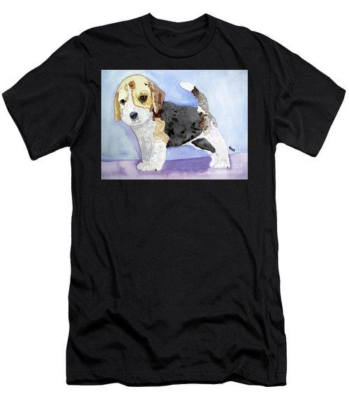 Beagle Pup Men's T-Shirt (Athletic Fit)