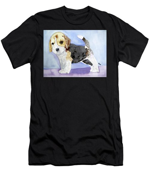 Beagle Pup Men's T-Shirt (Athletic Fit)