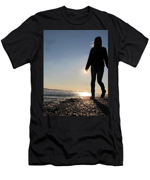 Beah Walk Men's T-Shirt (Athletic Fit)