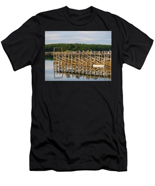 Beals Island, Maine  Men's T-Shirt (Slim Fit) by Trace Kittrell