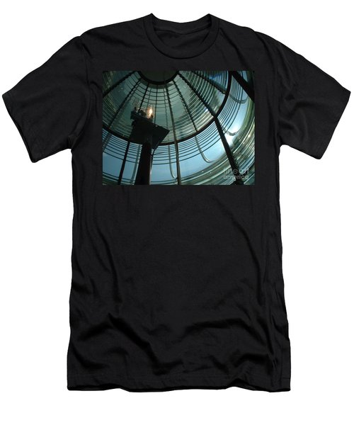 Men's T-Shirt (Slim Fit) featuring the photograph Beam Master by Mark Robbins