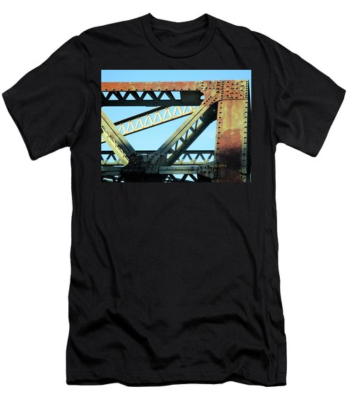 Beams And Bolts Men's T-Shirt (Athletic Fit)