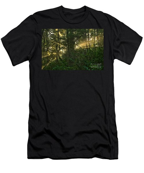 Beams In All Directions Men's T-Shirt (Athletic Fit)