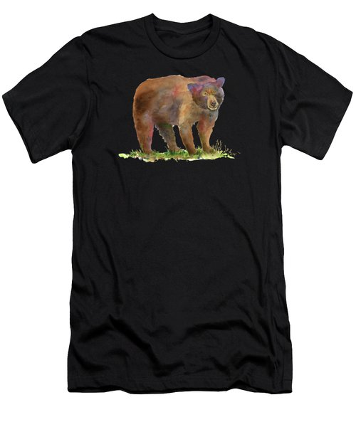Bear In Mind Men's T-Shirt (Athletic Fit)