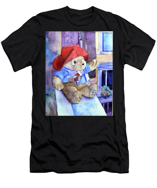 Bear In Venice Men's T-Shirt (Athletic Fit)