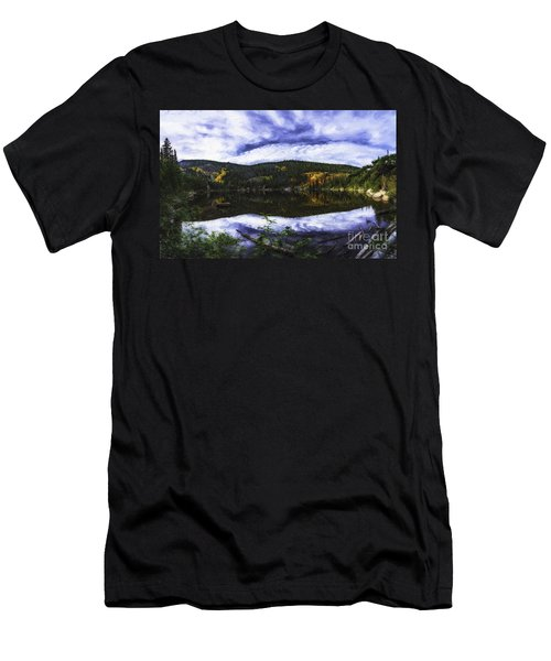 Bear Lake  Men's T-Shirt (Athletic Fit)
