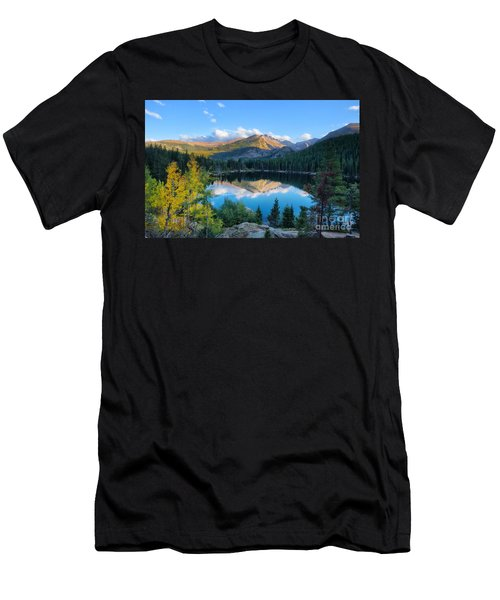 Bear Lake Reflection Men's T-Shirt (Athletic Fit)