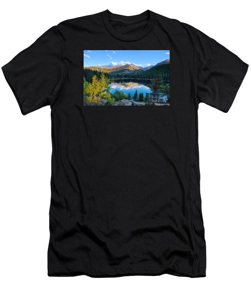 Bear Lake Reflection Men's T-Shirt (Athletic Fit)