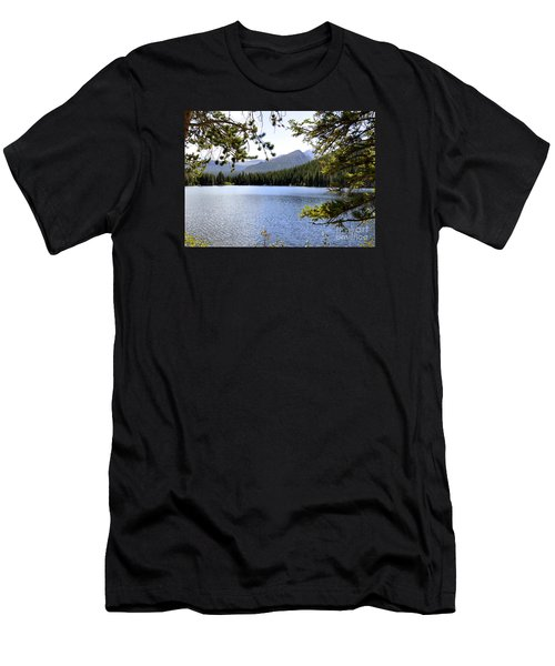 Men's T-Shirt (Slim Fit) featuring the photograph Bear Lake Rmnp by Nava Thompson