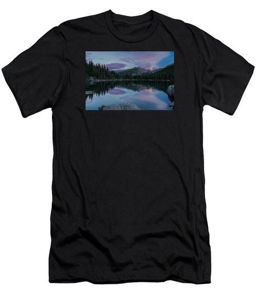 Bear Lake Sunset Men's T-Shirt (Slim Fit) by John Vose