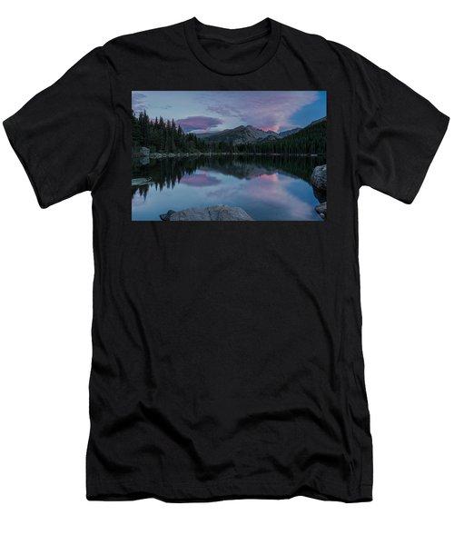 Bear Lake Sunset Men's T-Shirt (Athletic Fit)